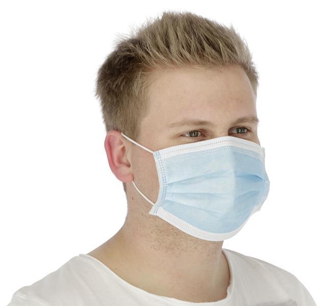 Hygienemasken Mund-Nasen-Schutz 50 Stck