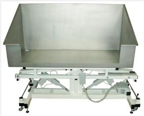 Badewanne Edelstahl, elektrisch 1.200x600 mm