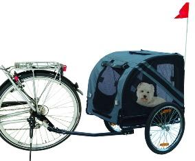 DOGGY-LINER Economy Hundefahrradanhänger