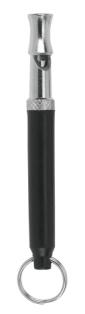 Hundepfeife, Hochfrequenz bis ca. 200 m mit Frequenzfixierung