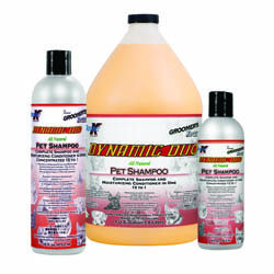 Shampoo + Conditioner Groomers Edge Dynamic Duo 3,8 l 3er Pack